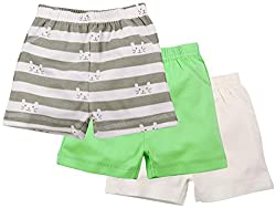 Boys Shorts Pack of 3 - Multi Coloured (18-24 Months)