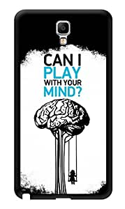 "Humor Gang Can I Play With Your Mind Deep Printed Designer Mobile Back Cover For ""Samsung Galaxy Note 3"" (3D, Glossy, Premium Quality Snap On Case)"