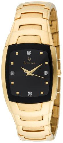 Bulova Men's 97F60 Diamond Dial Bracelet Watch