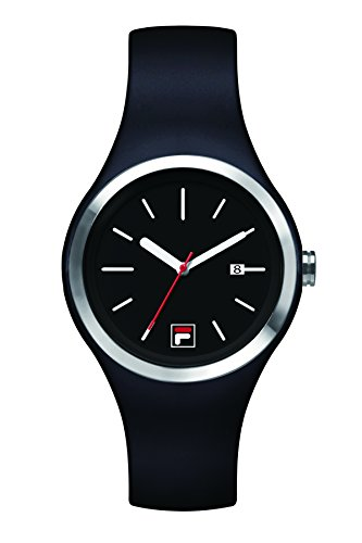 Fila-Bracciale unisex orologio al quarzo 38-060-002FILA casual Nero Silicone