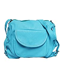 Vintage Stylish Ladies Sling Bag- Cross Body Bag- Sky Blue(bag 325)