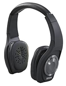 Denon AH-NCW500BK Globe Cruiser On-Ear Wireless Bluetooth Headphones