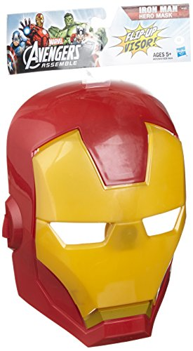 Avengers Marvel Assemble Iron Man Hero Mask - 1