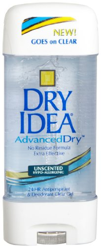 Dial 1327463 Dry Idea Unscented Clear Gel Anti-Perspirant Deodorant, 3oz Size (Pack of 12) (3 Oz Spray Deoderant compare prices)