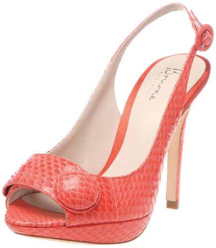 Bourne Women's Amelie Coral Slingback Heels L08954 5.5 UK