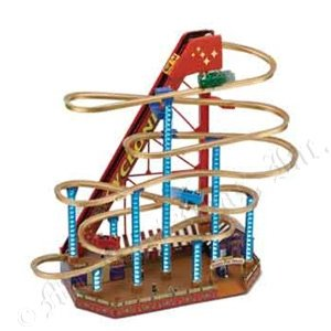 Mr. Christmas Animated World's Fair Grand Roller Coaster Decoration