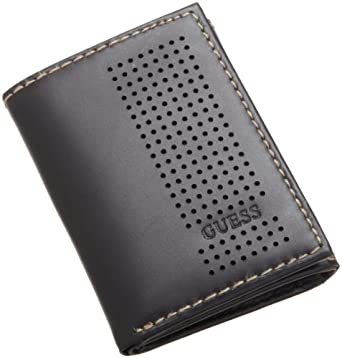 Guess Mens Trifold Wallet, Black, One Size at Amazon Men's