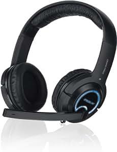 Speedlink Xanthos Console Gaming Kopfhörer mit Mikrofon und Kabelfernbedienung für PC, PS4, PS3, Xbox 360 (3,5 mm/2,5 mm/USB)