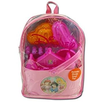 What Kids Want Disney Princess Sand Backpack Set Assortment by What Kids Want TOY (English Manual)