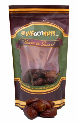 Dates, Pitted, California - We Got Nuts (1 Lb.)