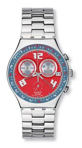 Swatch - Irony Chrono - Rosso Furore