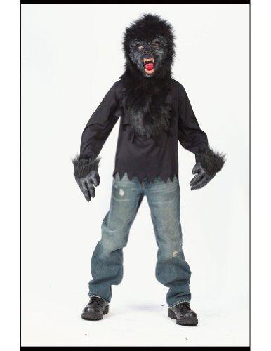 Kids Scary Gorilla Costume - Child Large