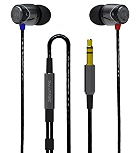 SoundMAGIC E10 Noise Isolating In-Ear Earphones (BlackGunmetal)
