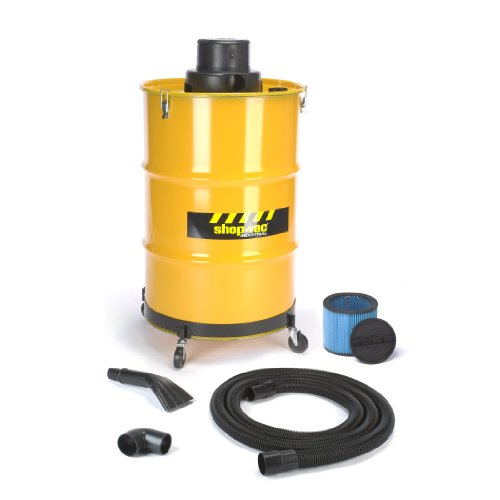 Shop-Vac 9700510 3.0-Peak Horsepower Industrial Wet/Dry Vacuum, 55-Gallon