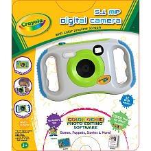 Crayola 7.1 MP Digital Camera, Green (28070)