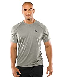 Under Armour Men's UA Tech Short Sleeve T-Shirt XX-Large Oatmeal Heather