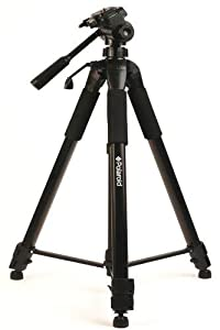 "Polaroid 72"" Photo / Video ProPod Tripod Includes Deluxe Tripod Carrying Case + Additional Quick Release Plate For Digital Cameras & Camcorders"