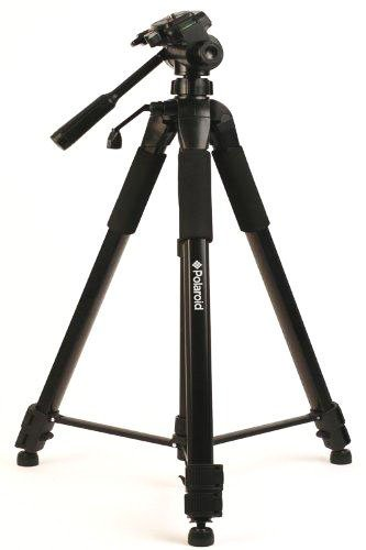 Polaroid PLTRI72  72-Inch Tripod (Black)