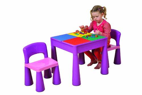 Liberty House Children's Purple Table and Chairs (2 Pieces)