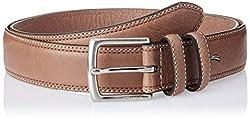Nautica Men's Leather Belt (11NUE2X040TAN_Tan) (8907259555072)