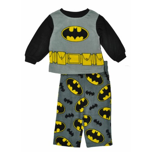 Batman Toddlers 2 Piece Fleece Pajama Set (Large-4T) front-1023198