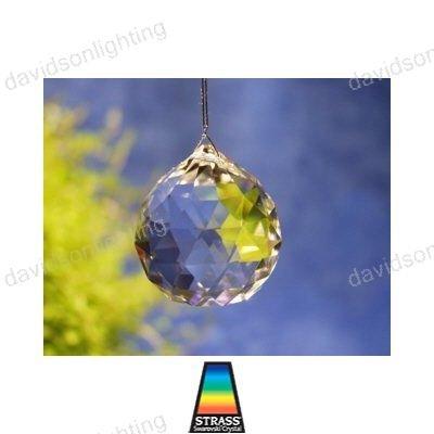 20mm Swarovski Strass Logo Crystal Ball Prisms #8558-20