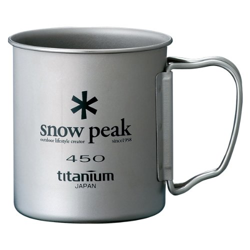 Snow Peak Single Wall 450 Cup One Size (Titanium Single Wall Cup compare prices)