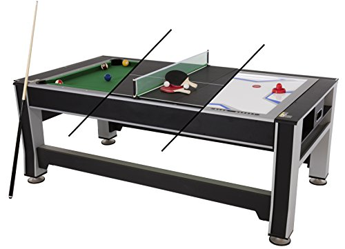 Triumph Sports 84-Inch 3-in-1 Rotating Combo Table