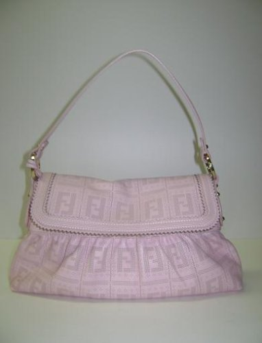 Fendi Handbags Pink Chef Leather 8br445