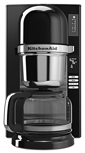 Kitchenaid Programmable Coffee Maker Manual : KitchenAid KCM0802OB Pour Over Coffee Brewer, Onyx Black Media Product Manuals Appliance Manuals