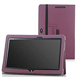 MoKo Slim Cover Case for ASUS VivoTab Smart ME400 ME400C 10.1 inch Windows 8 tablet (Purple)