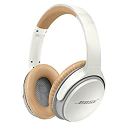 Bose 741158-0020 SoundLink Wireless Around-Ear Headphones with Mic (White)