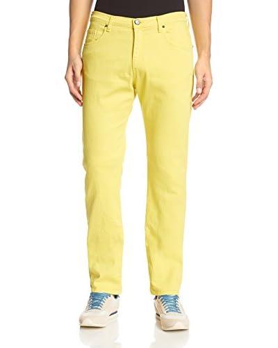 Versace Jeans Men's Garment-Dyed Slim Jeans