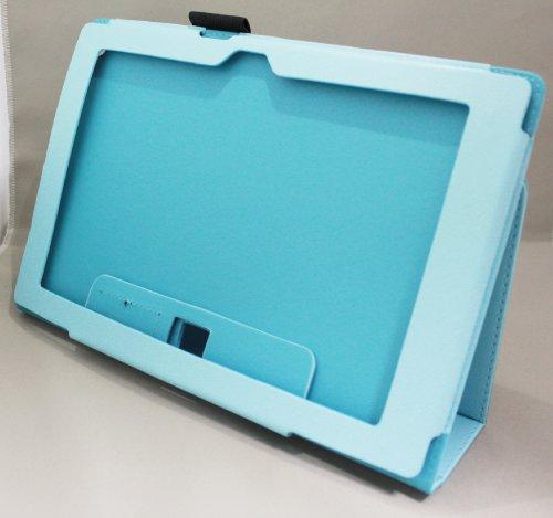 Homu HomuXperia Tablet Z SO-03E全11色PUレザーケース PUレザーカバー エクスペリアタブレットZ レザーケースレザーカバースタンド機能付 ペンホルダー付/SGP312JP (ライト ブルー)(24-11)