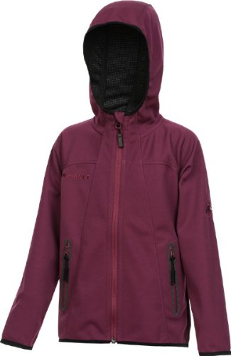 Mammut Ultimate Hoody Jacket Kids cherry/black 128
