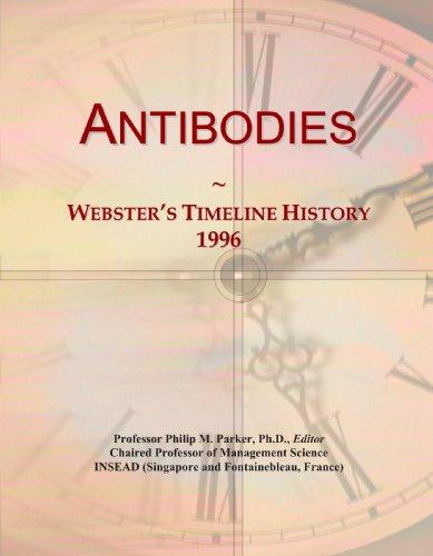 Antibodies: Webster's Timeline History, 1996