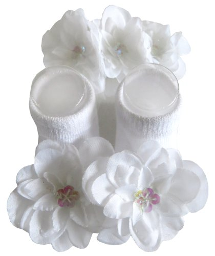 Baby Sock Flowers front-1057834