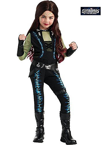 Disguise Marvel Guardians of The Galaxy Gamora Deluxe Girls Costume