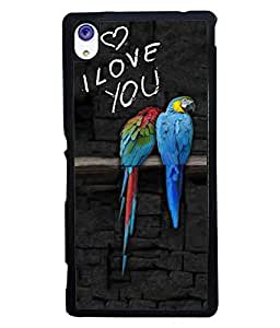 PrintVisa Metal Printed Quotes Designer Back Case Cover for Sony Xperia M4 Aqua/ M4 Aqua dual-D4878