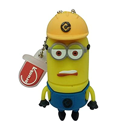 Hitkart USB Flash Drive New Style Minion P26-16GB Storage Device USB 2.0 or Higher