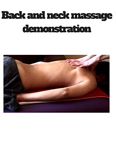 Back and neck massage demonstration