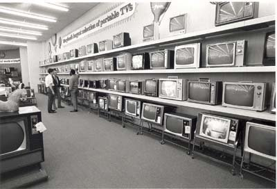 Photo Maryland'S Largest Portable Television Sales