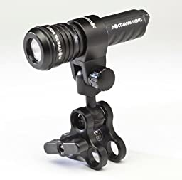 Nocturnal Lights Single M700i LED w/ Triple Clamp + Ball Mount M700i.BJPLUS