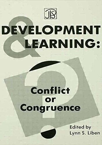 Development and Learning: Conflict Or Congruence? (Jean Piaget Symposia Series) PDF