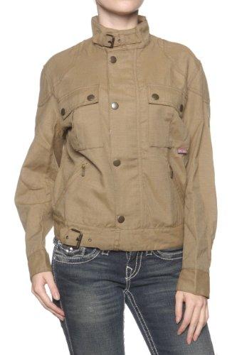 Belstaff Damen Jacke Blouson-Jacke BRITANNIA, Farbe: Khaki