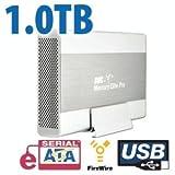 1.0TB OWC Mercury Elite Pro Quad Interface Enterprise 7200RPM eSATA/FW800/F ....
