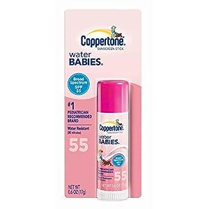 Coppertone Water Babies SPF 55 Sunscreen Stick - 0.6 Ounce