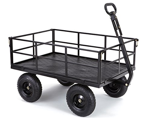 Gorilla-Carts-Heavy-Duty-Steel-Utility-Cart-with-Removable-Sides-and-13-Tires-with-1200-lb-Capacity