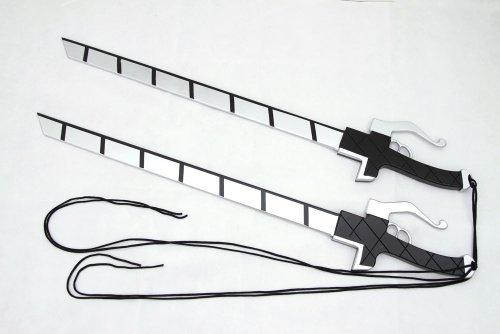 進撃の巨人 超硬質スチール 2本 セット 刀 剣 調査兵団 実寸版 WATER LILY製 c7