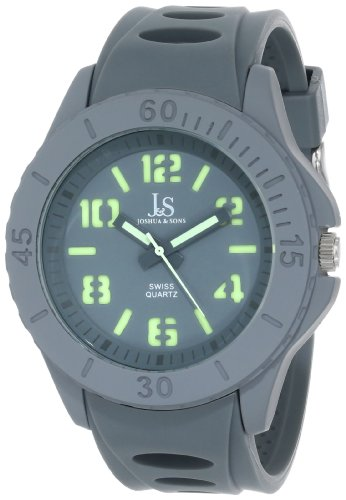Joshua & Sons JS-37-GY - Reloj para hombres